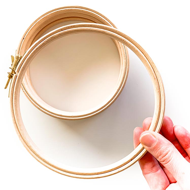 15 cm embroidery hoop 6 inch
