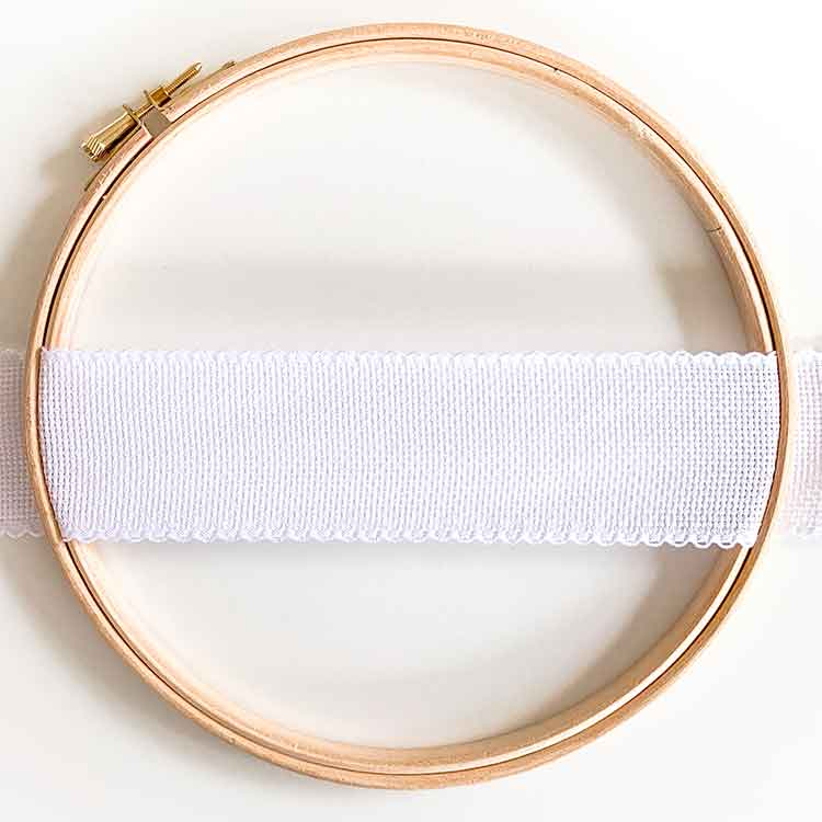 aida ribbon 5 cm white