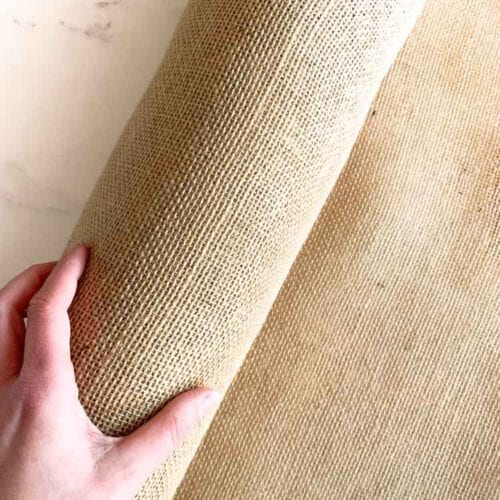 undyed jute for adjustable punch needle 250 grams