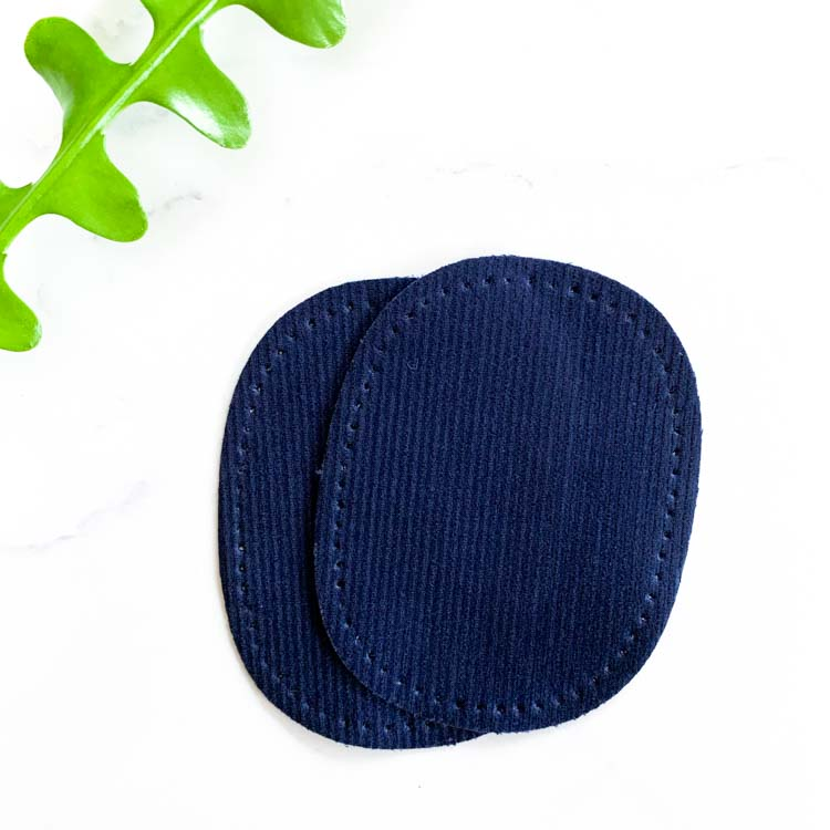 mini repair Patch pre-punched navy