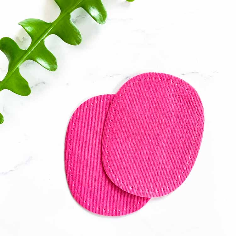 Mini Repair Patch pre-punched pink
