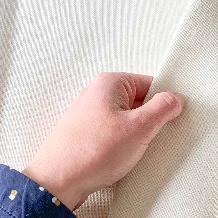 fine linen punch fabric premium quality