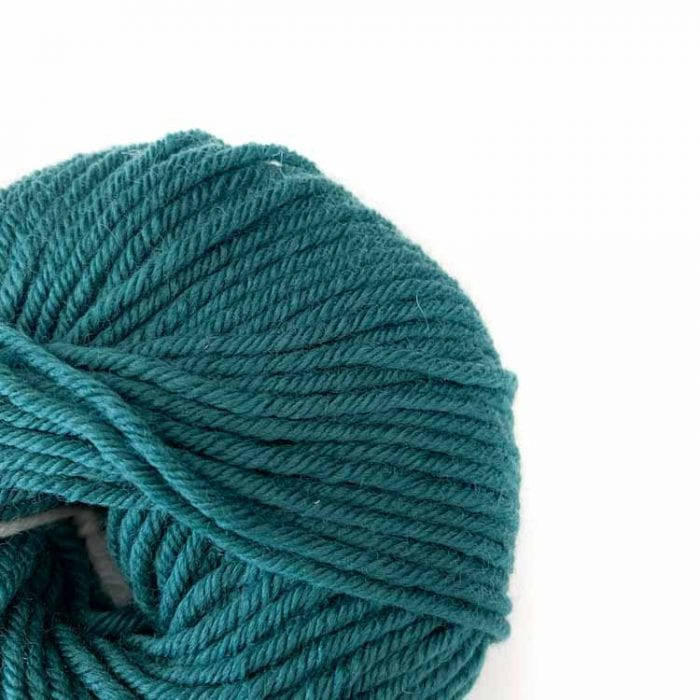Gordita Deep Green Ecological Merino Wool