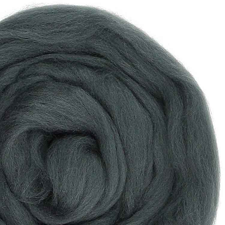 Graphite wool roving