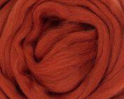 rusty wool roving european wool