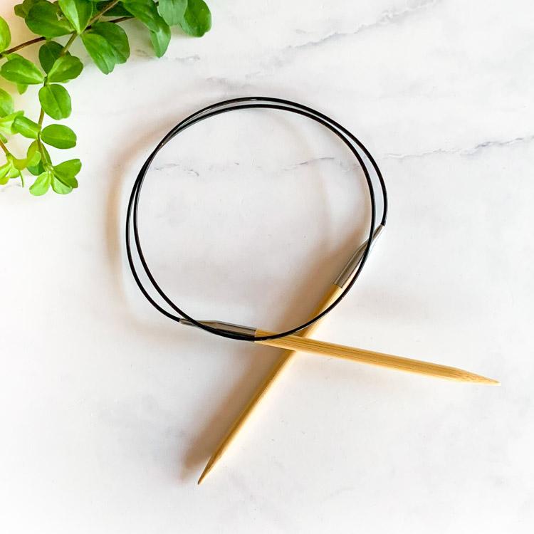 circular knitting needles 80x6mm