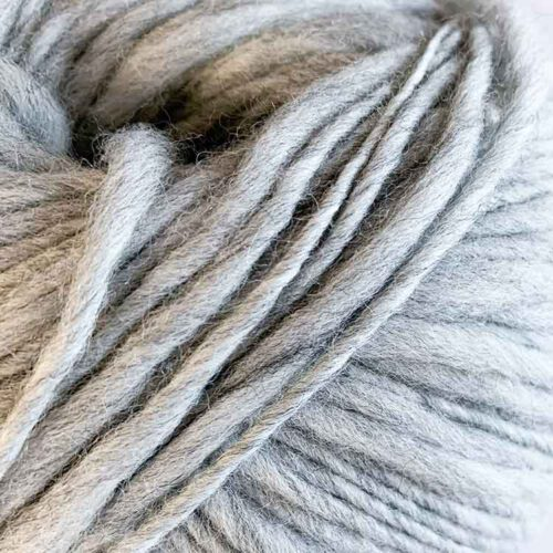 Flamita silver ecological wool