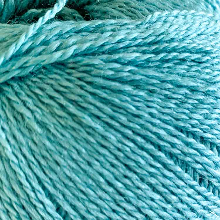 silky finita turquoise luxury yarn mulberry silk