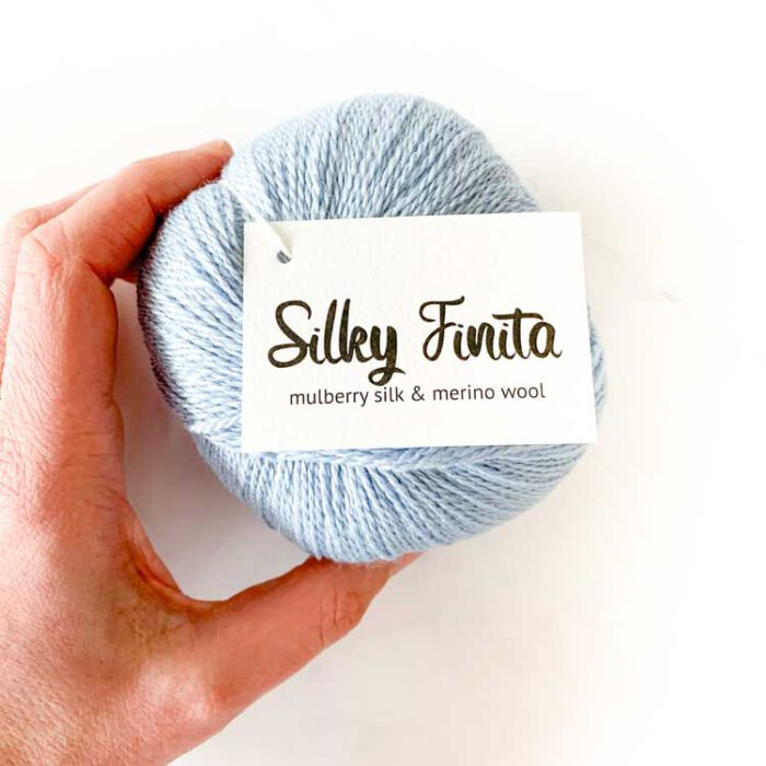 Silky finita touch of blue