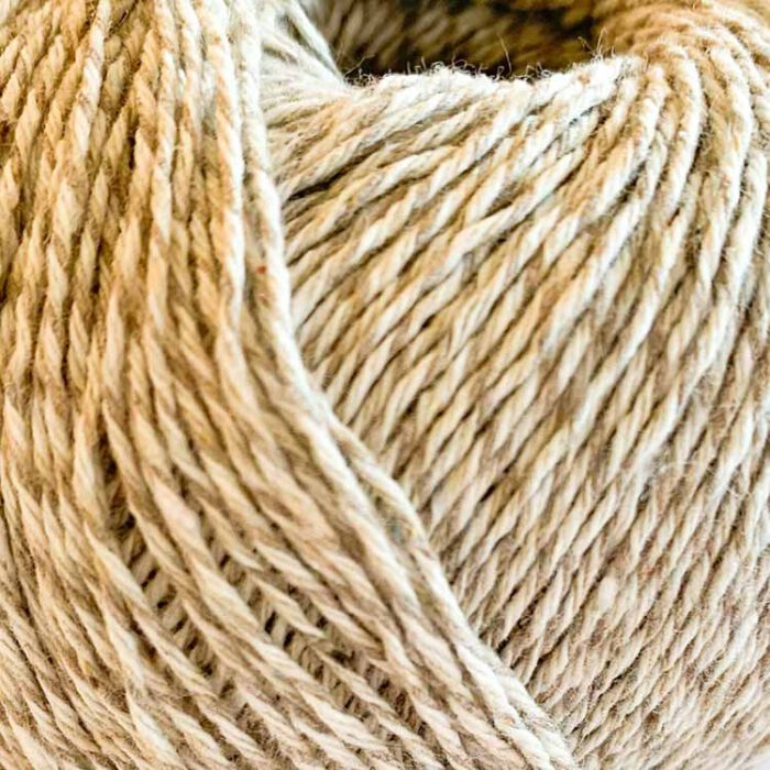 Relove denim beige recycled jeans yarn