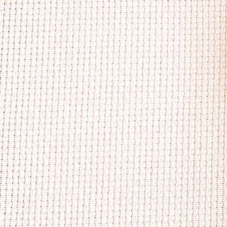 Soft Pink aida 14 count cross stitch fabric