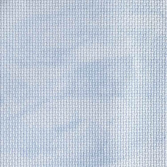 blue clouds aida 14 count fabric