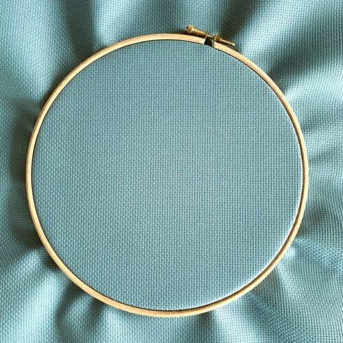 Fern Green Aida 14 count fabric