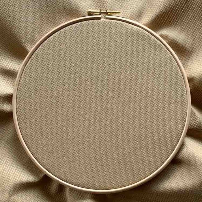 mocha aida 14 count cross stitch fabric