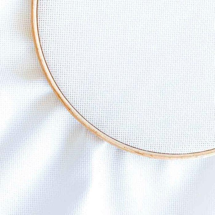 Aida 16 white cross stitch fabric