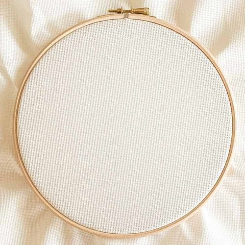 antique white aida 16 count cross stitch fabric