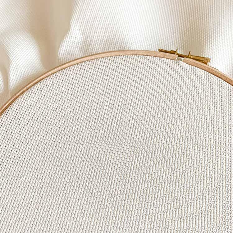 antique white aida 16 count cross stitch fabric