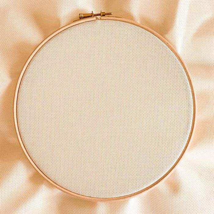 Aida 16 Ecru cross stitch pattern