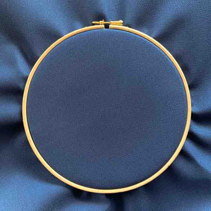 Aida 18 dark denim cross stitch fabric