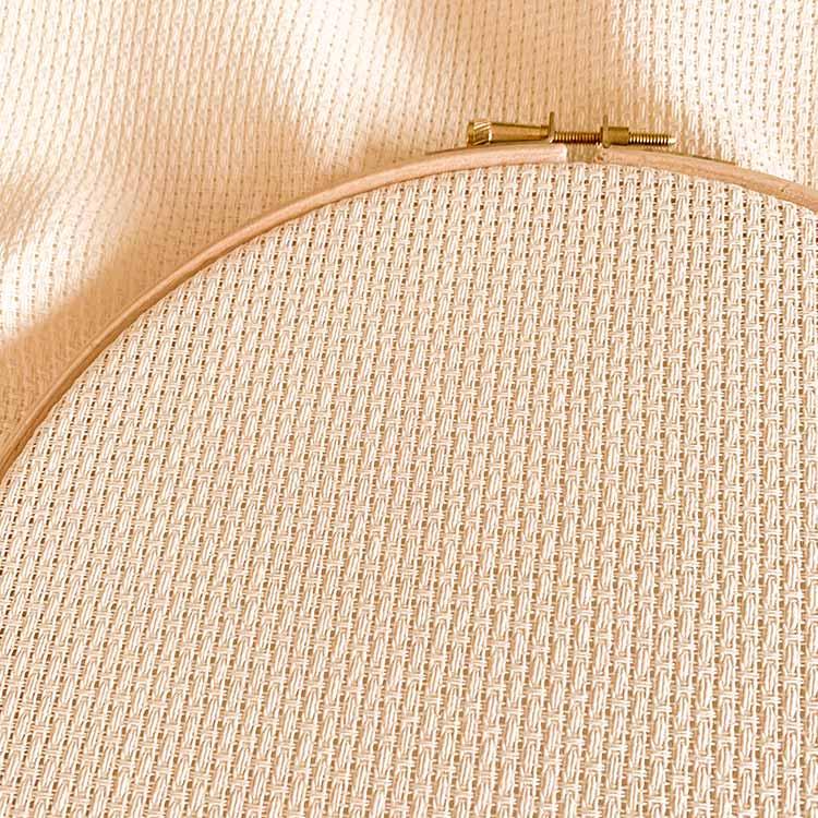 Aida 8 ecru cross stitch fabric