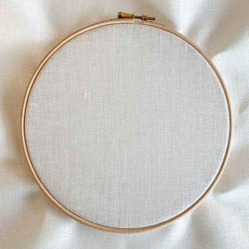 Cashel linen 28 count antique white evenweave