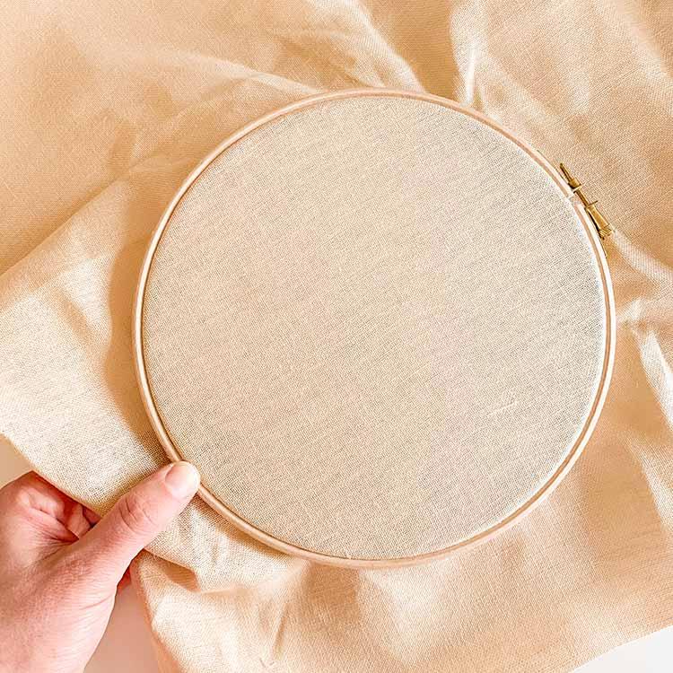 ecru 32 count linen