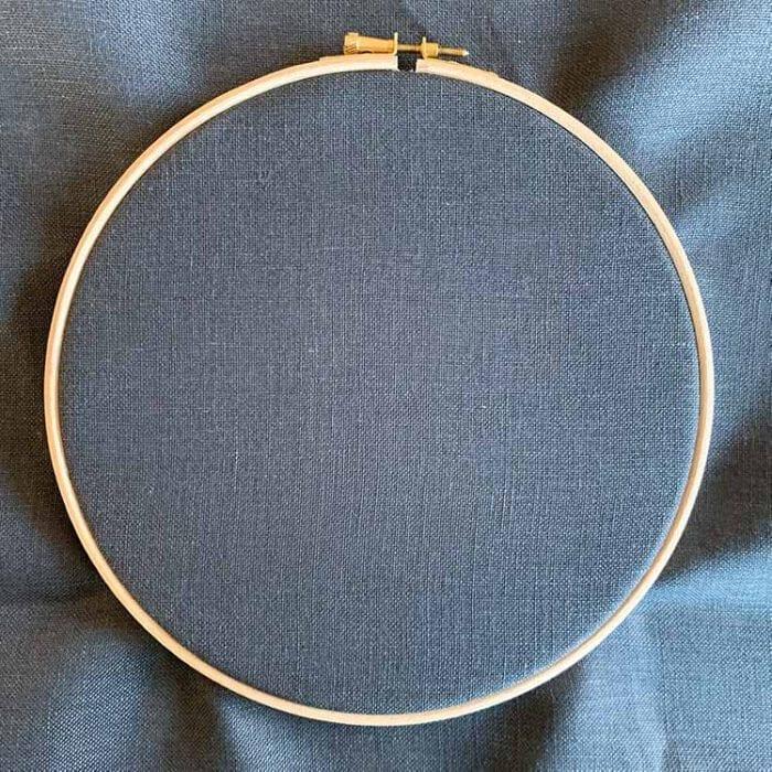 Belfast linen 32 count antracite evenweave