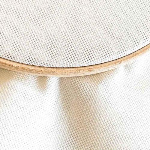 antique white aida 20 cross stitch fabric Studio Koekoek
