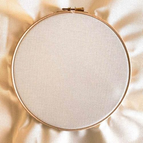 ecru aida 20 count cross stitch fabric studio koekoek