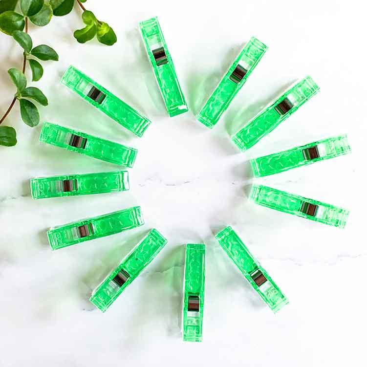 jumbo wonder clips green