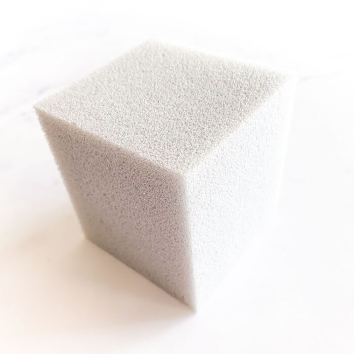 ight gray foam block for needle felting