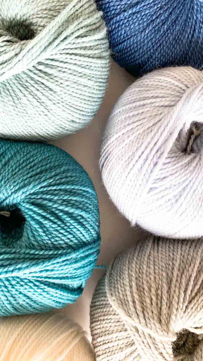 xl punchneedle kit turquoise ocean