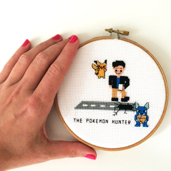 pokemon cross stitch pattern