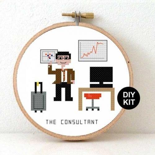 Cross Stitch Kit Consultant