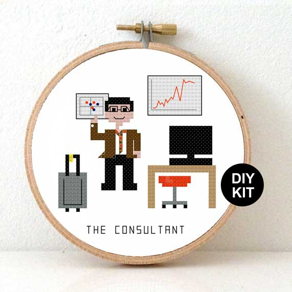 Cross Stitch Kit Consultant