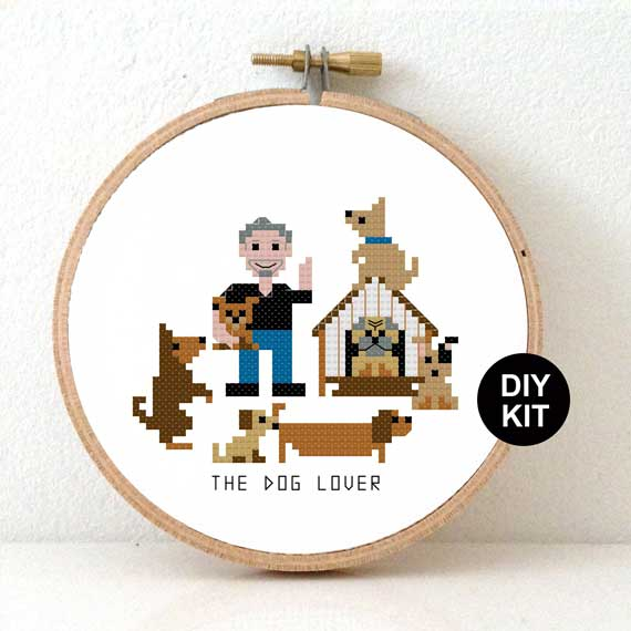 DIY dog lover gift for him