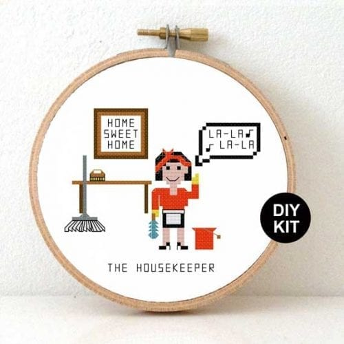 Housekeeper Cross Stitch Kit