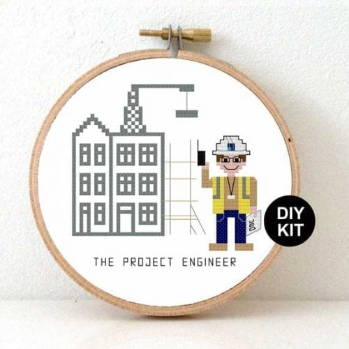 Cross Stitch Kit Project Engineer