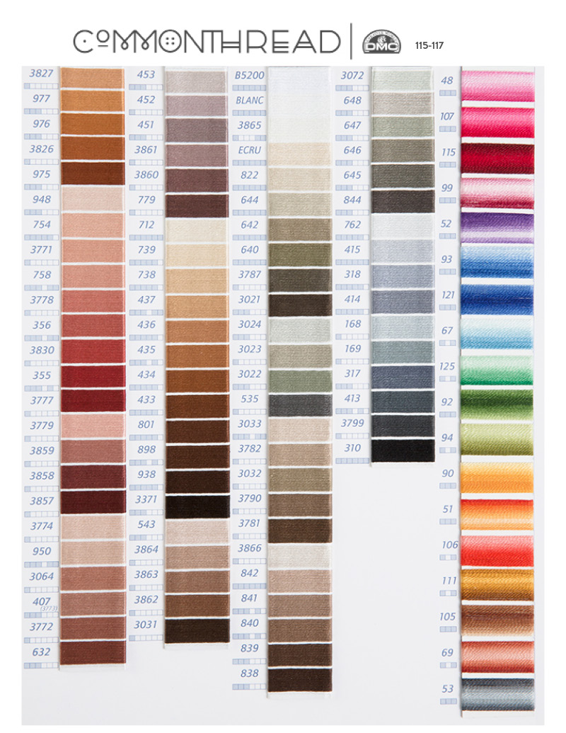 It's just a photo of Invaluable Free Printable Dmc Color Chart