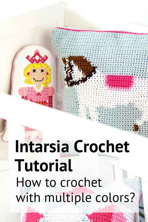 intarsia crochet how to crochet with multiple colors