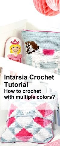 intarsia-crochet-tutorial blog how to crochet with multiple colors