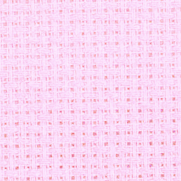 Aida 14 touch of pink Cross stitch fabric