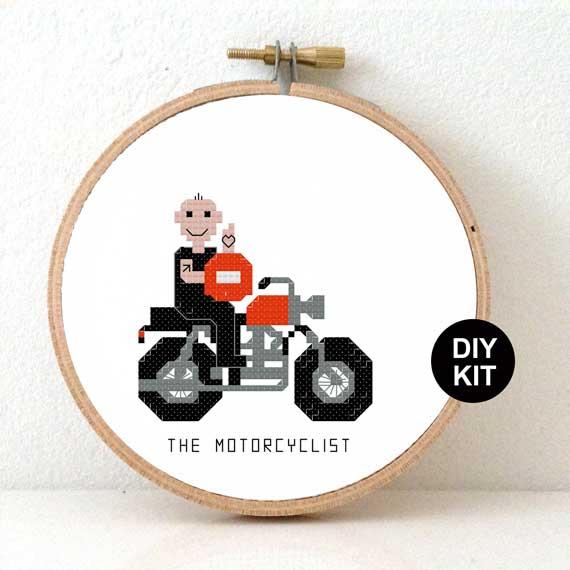 Motor biker DIY gift idea