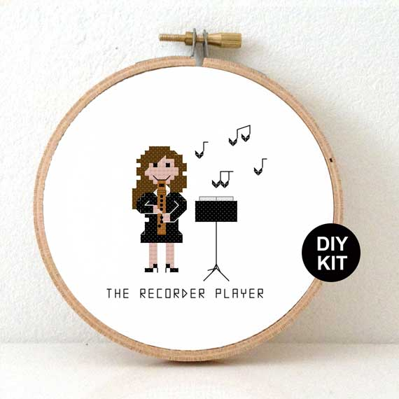 DIY gift Recorder player