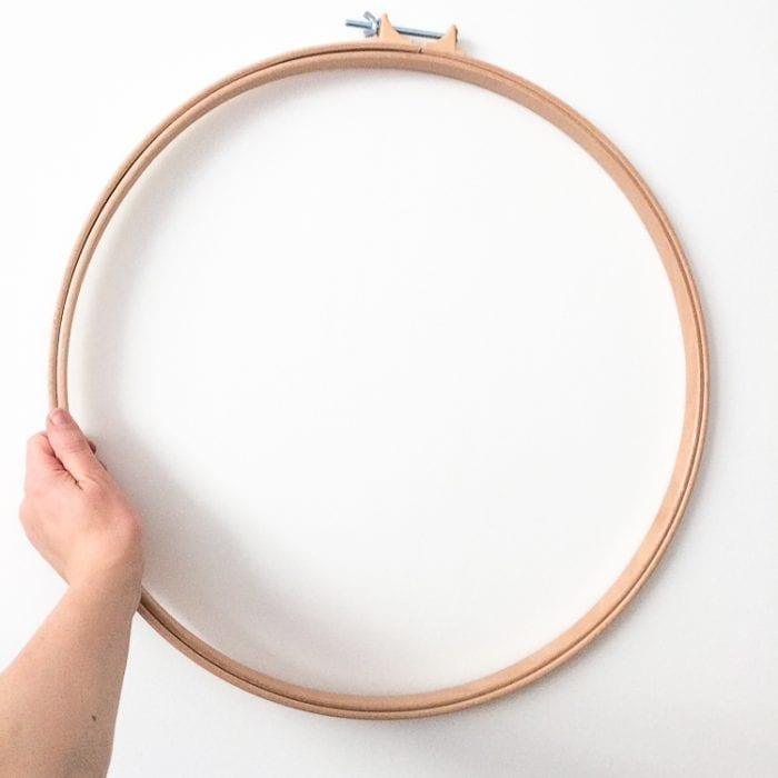 big cross stitch quilt hoop