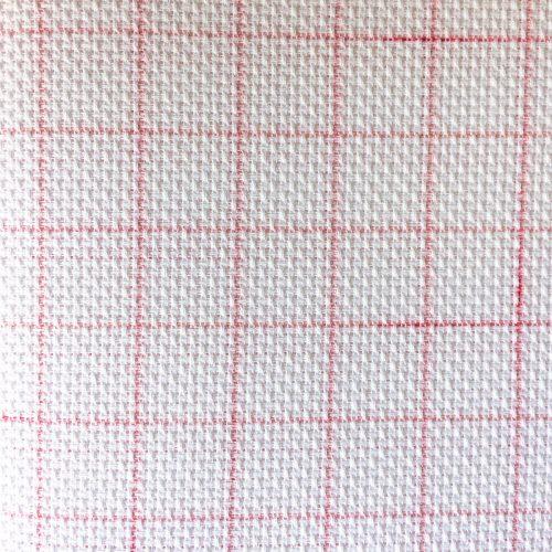 Magic Aida fabric with washable lines