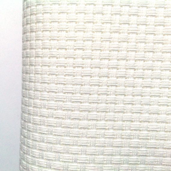Aida 6 count White Cross Stitch Fabric White AIDA 6 Count Fabric