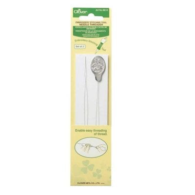 Clover Embroidery Stitching Tool Needle Threader