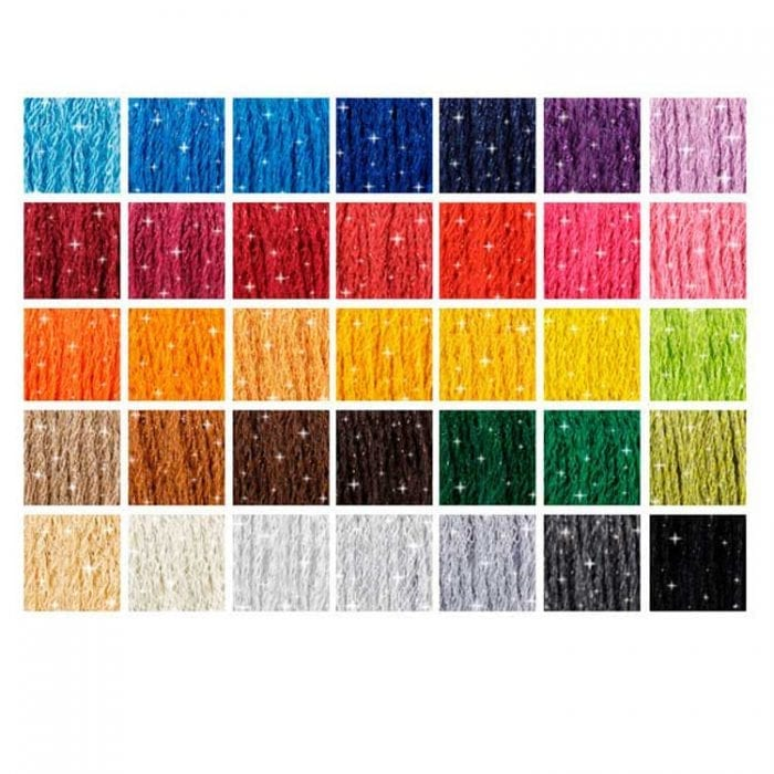 35 colors DMC Étoile color card mouline Etoile DMC floss