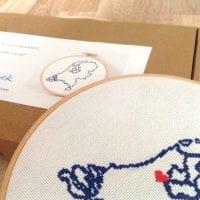 cross stitch kit netherlands